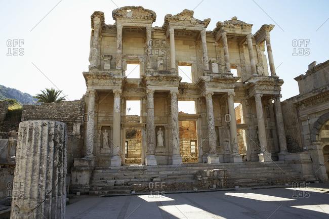 Ancient Building in Ephesus, Turkey