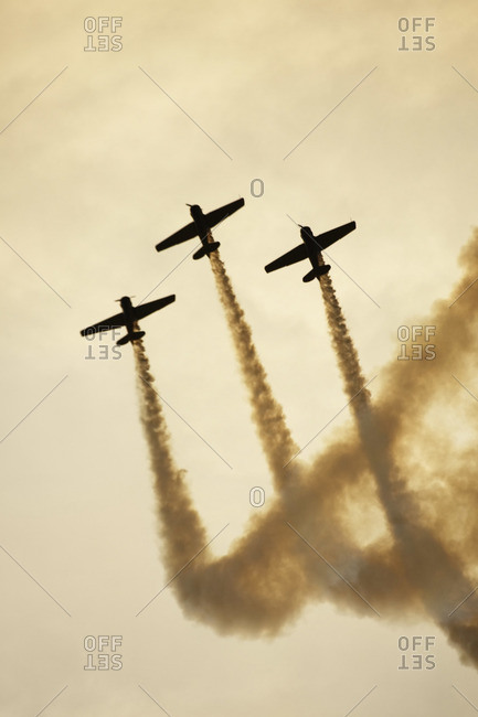 Planes Performing at Air Show