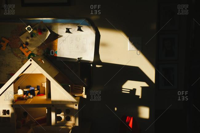 Detail of children's playroom - Offset
