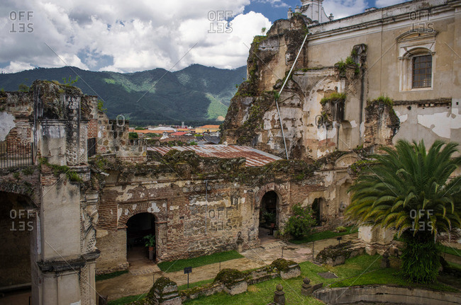 San Francisco Church ruins in Antigua, Guatemala