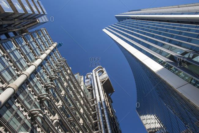 London, England, United Kingdom - March 19, 2011: Lloyds Building, City of London, London, England, United Kingdom