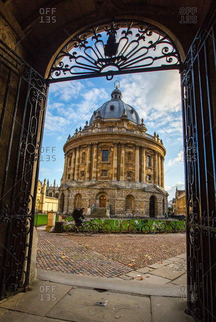 Oxford, England, United Kingdom - November 21, 2013: Radcliffe Camera, Oxford, Oxfordshire, England, United Kingdom