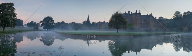 Broughton Castle, Broughton, Oxfordshire, England, United Kingdom