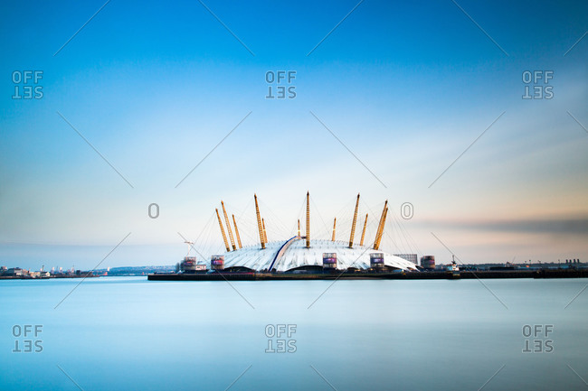 London, England, United Kingdom - February 27, 2013: The Millennium Dome (O2 Arena), Greenwich, London, England, United Kingdom