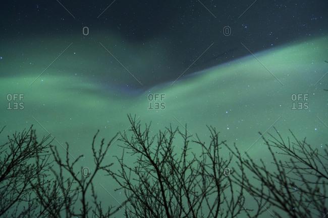 how to set a camera for aurora borealis