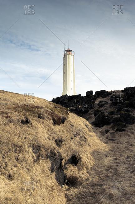 Lighthouse at Malarrif, Iceland