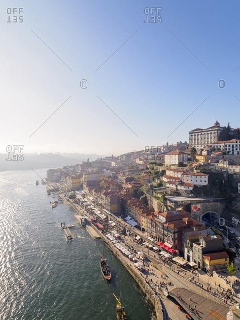 View of Grande Porto along the Douro river