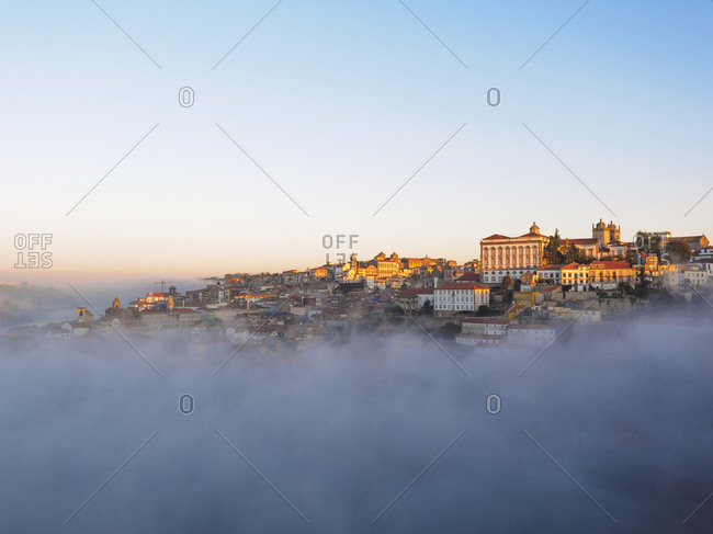 View of Grande Porto in early morning light