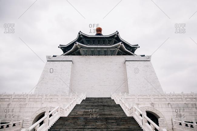 Ching Kai-shek Memorial Hall in Taipei, Taiwan