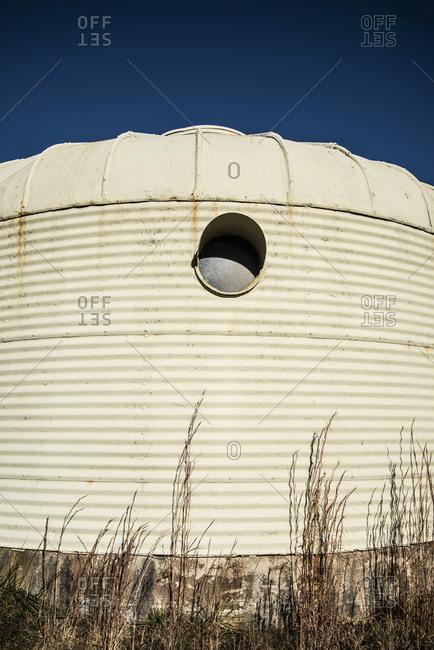 Round windows of Dymaxion Deployment Units