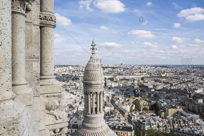 View from Sacre-Coeur Basilica, Paris