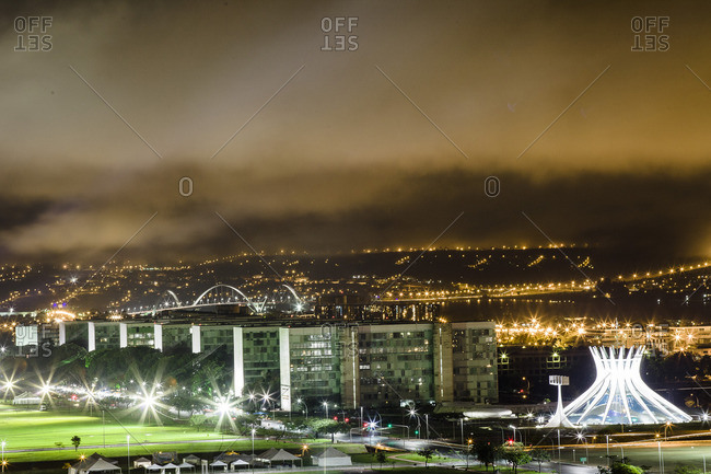 Cityscape of Brasilia, Brazil