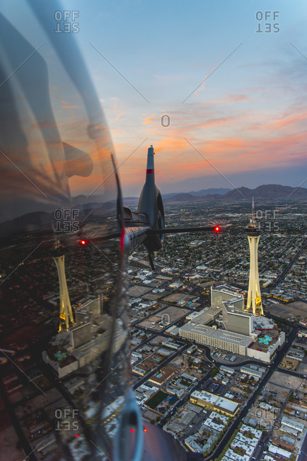 Las Vegas, NV, USA - September 9, 2015: Stratosphere Hotel and Casino in Las Vegas, NV