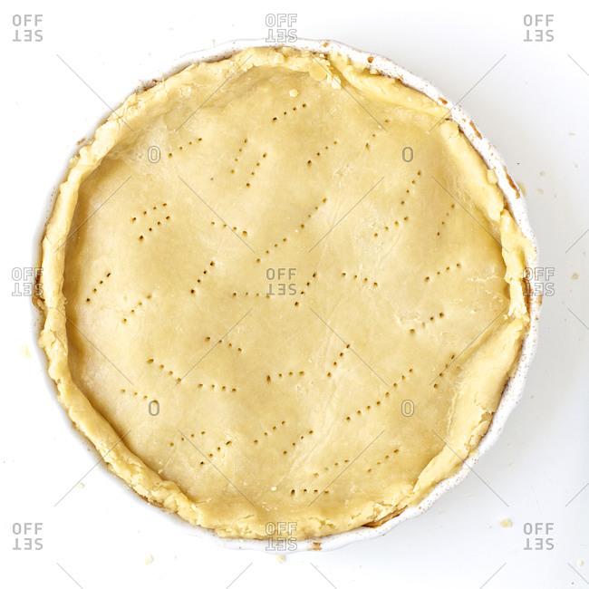 Tatin crust dough from above