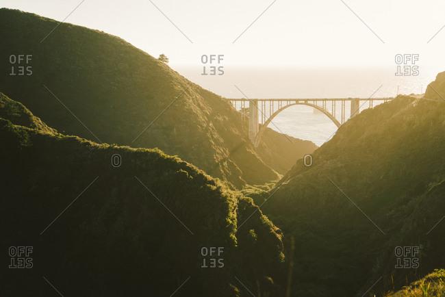 Bixby Creek Bridge in Big Sur, California