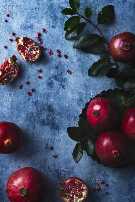 Pomegranate and pomegranate seeds