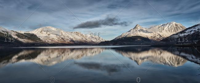 Loch Linnhe and Pap of Glencoe mountain, Loch Linnhe