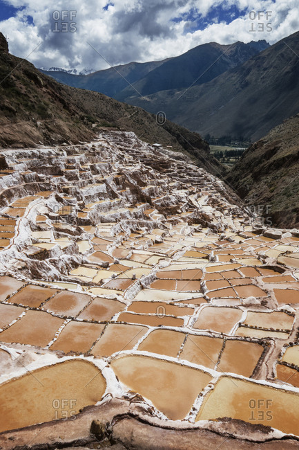 Salinas De Maras in Peru