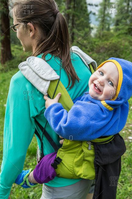Family Day in Dolomites