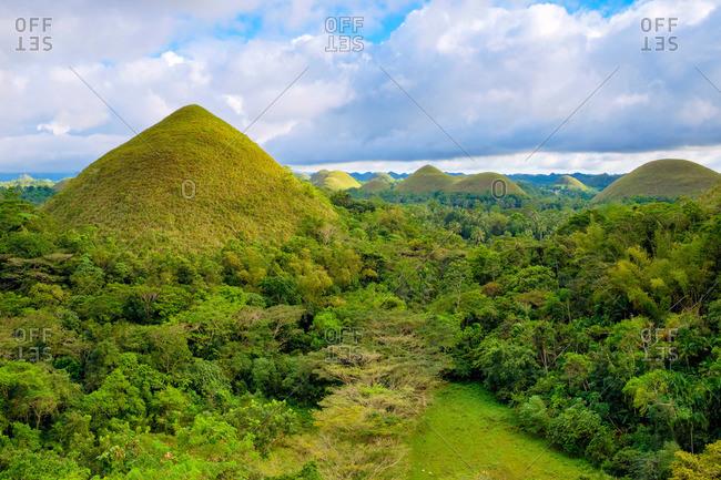 Chocolate Hills, Bohol, Philippines