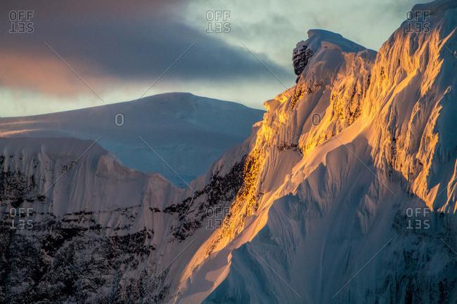 Mountain range, Antarctic Peninsula