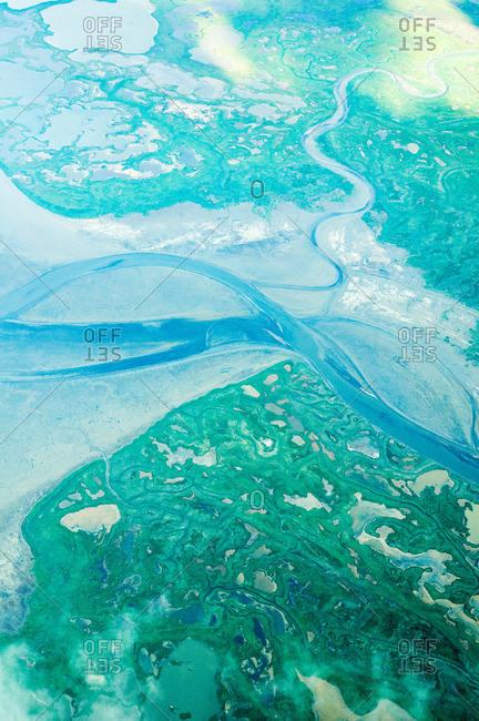 Aerial view, Aniakchak National Monument, Alaska