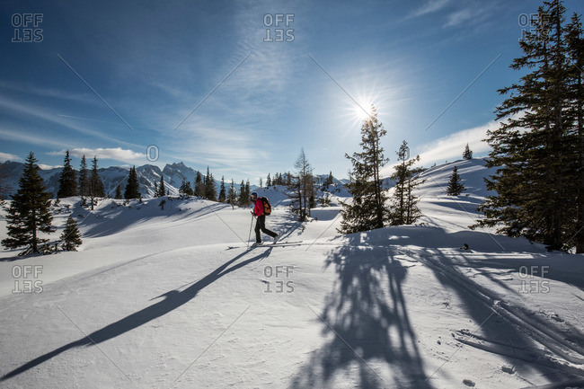 Back Country Skiing in Austria