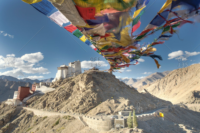 Prayer flags from Ladakh, India