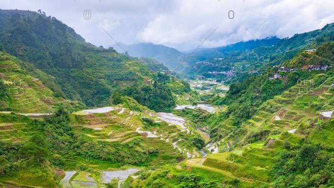 Banaue rice terraces, Cordillera Administrative Region, Philippines