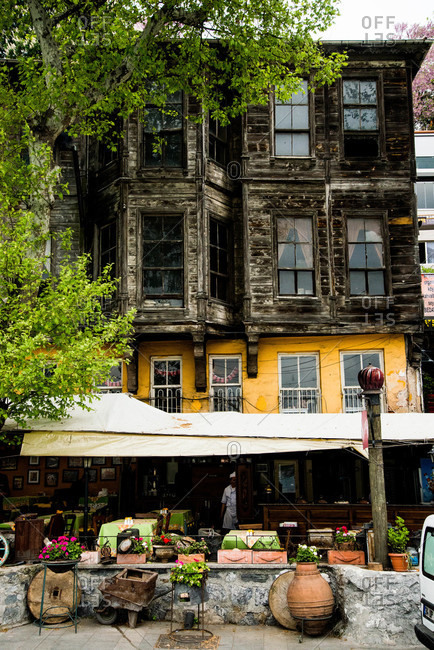 Restaurant in old building, Istanbul