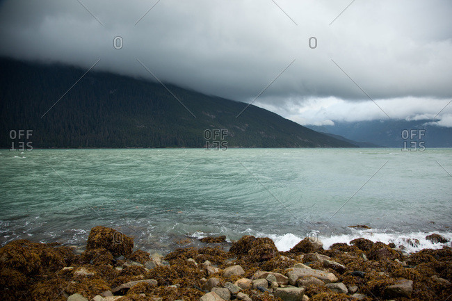 Inlet of the Chilkoot River in Haines, Alaska