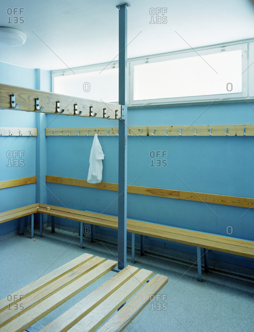 A changing-room, Sweden - Offset Collection