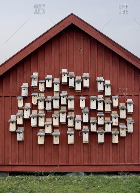 Nesting boxes, Sweden