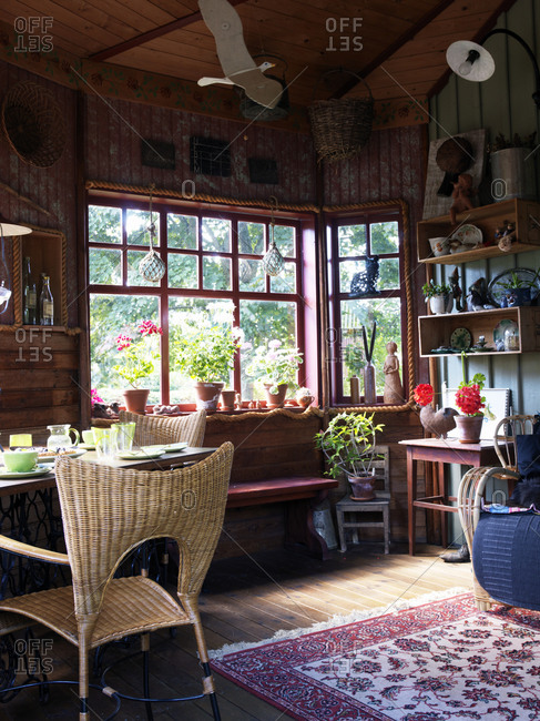 Scandinavian interior, Sweden