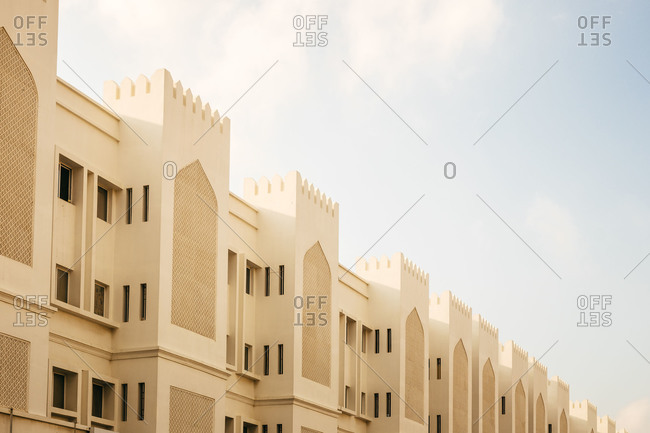 Townhomes in the suburbs of Muscat, Oman