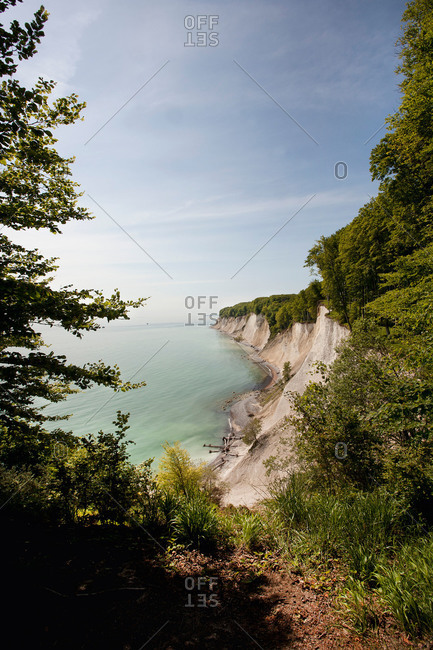Chalk cliffs in Germany