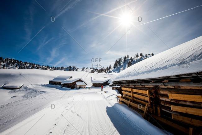 Ski chalets in Austria - Offset