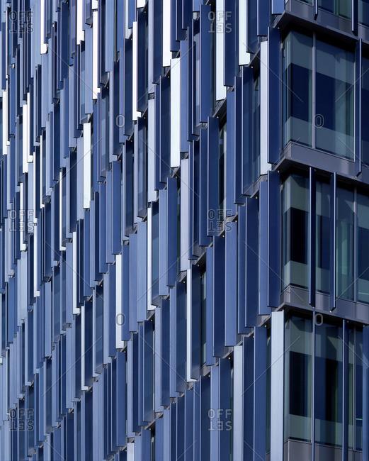 Facade of a modern London building