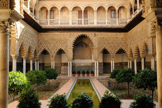 Real Alcazar in Seville, Spain
