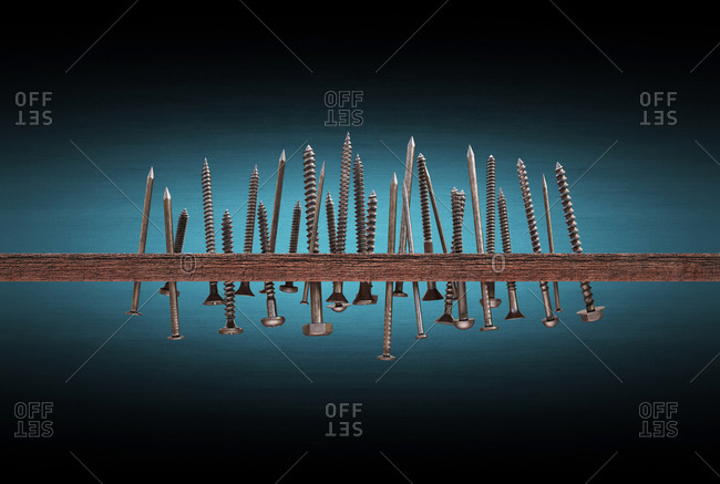 Nails and screws - Offset Collection