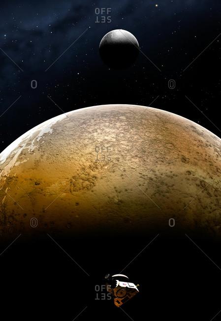 New Horizons spacecraft at Pluto