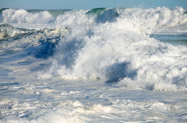 Ocean waves, Langebaan, Western Cape, Cape Town