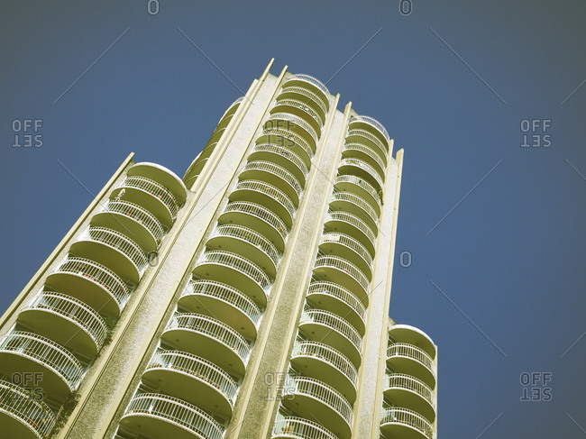 High-rise residential building in Vancouver Canada