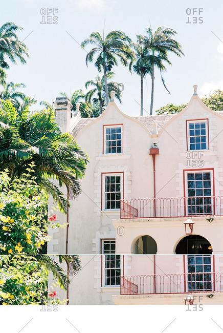 Saint Peter, Barbados - November 6, 2015: St Nicholas Abbey distillery in Barbados