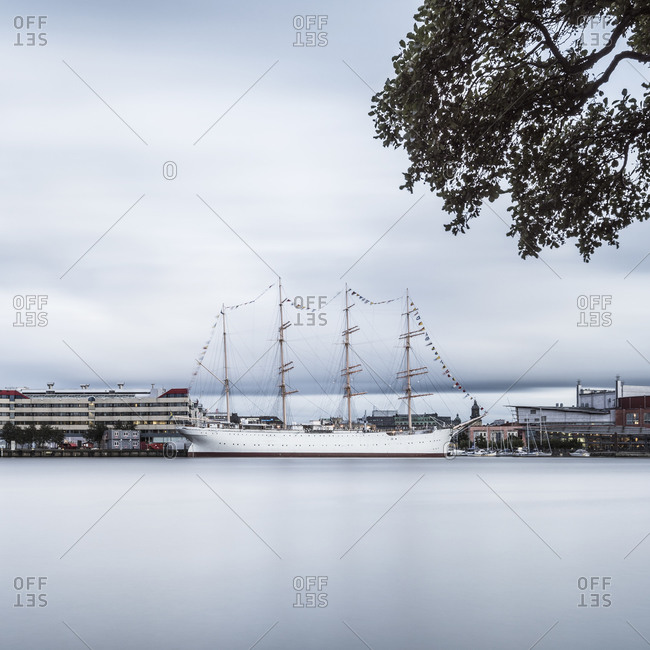 Moored tall ship, Gothenburg