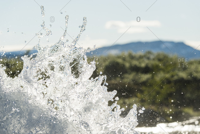 Splashing water, Padjelanta - Offset Collection