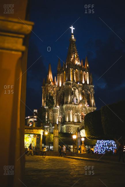 The Parroquia San Miguel de Allende Mexico