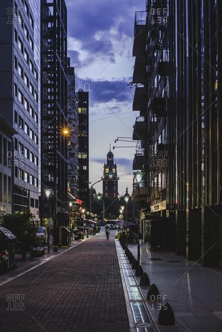 Reconquista Street in Buenos Aires Argentina
