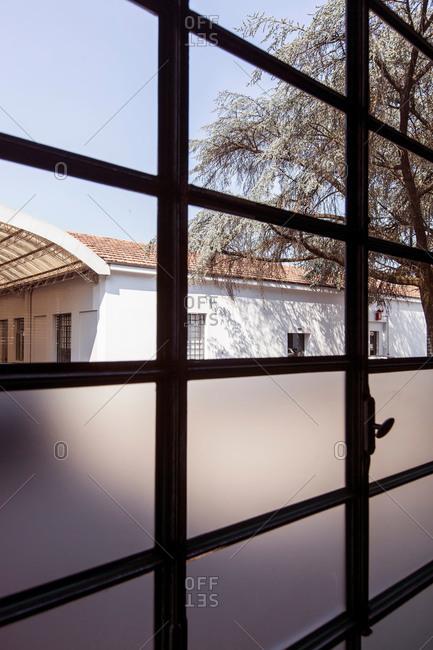 Window in Italian factory