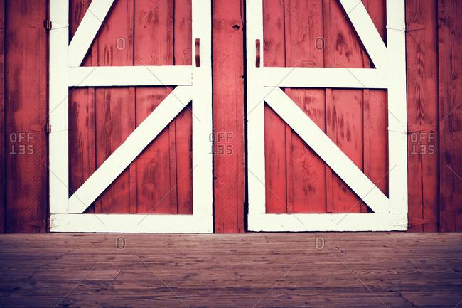 red barn door. Red Barn Door O